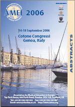 AMEE 2006 - Genova (Italy)